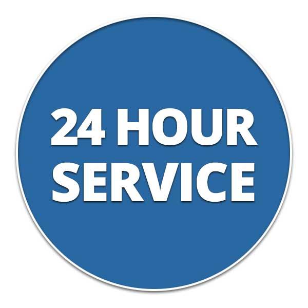 24 Hour Service